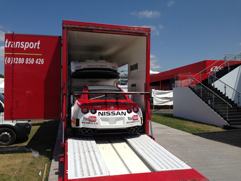 Race And Show Car Transport - Show car transport