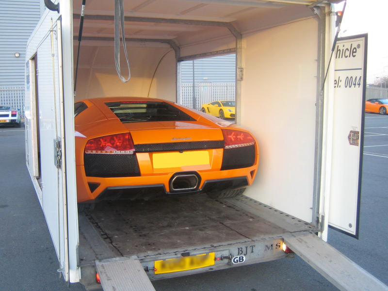 Super Cars And High Performance Vehicle Transport