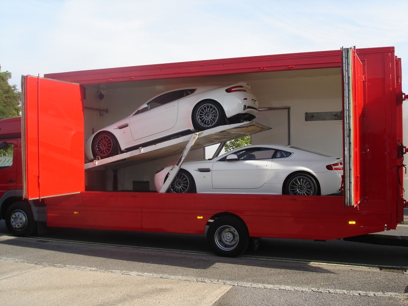 Multiple Covered Car Transport Now Available With Russells