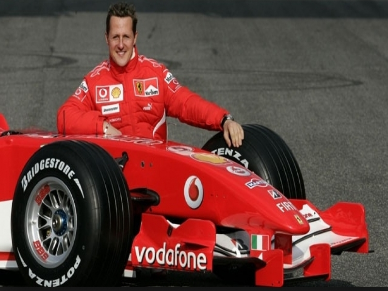 F1 Race Car Champion Michael Schumacher Leaves Hospital