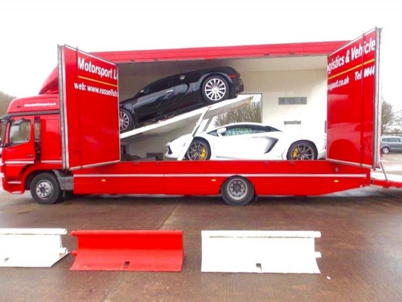 Super Car Transport Lamborghini Countach Buggatti Veyron Amp Ferrari 458 Italia