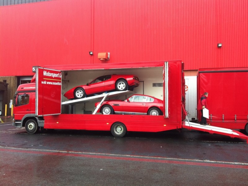 CLassic Car Transport To NEC Classic Car Show Birmingham - Show car transport